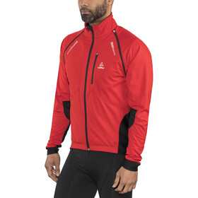 Löffler San Remo Windstopper Softshell Bike Zip-Off Jacke Herren rot